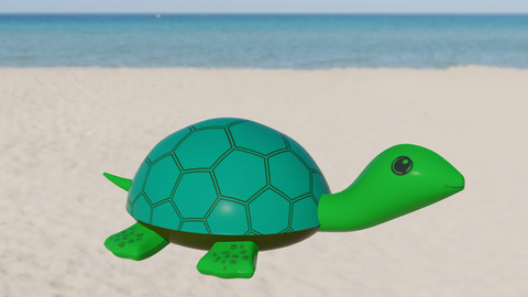 Turtle Inflatable Toy