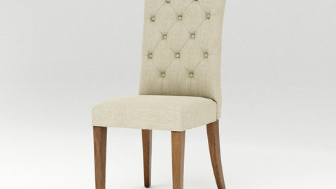 Padded dinning chair