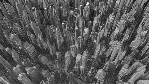 24 Sci-Fi Buildings