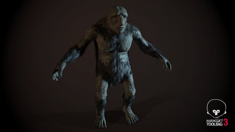 Troll 3d model (+ Rig)
