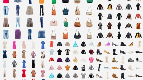 124 Casual Women Clothing Items