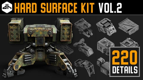 Hard Surface Kit Vol.2