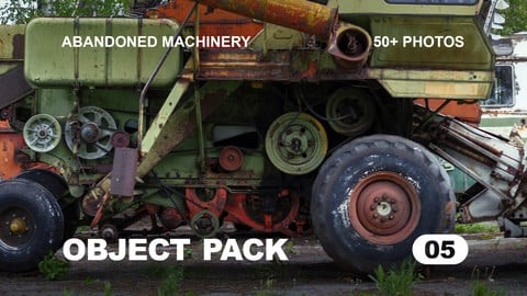 Obj Pack 05 / Abandoned Machinery reference pack