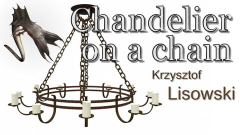 Chandelier on a chain | 3D Objects