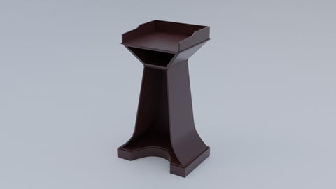 Pulpit Low-Poly