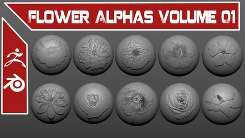 Flower Alphas Volume 01