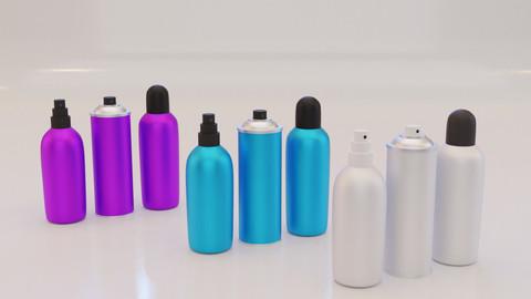 Deodorant Bottle 3D Model