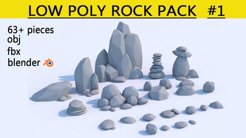 rocks-low poly