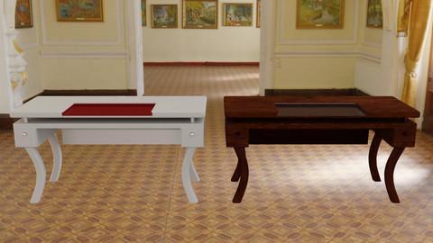 Design Computer Desk 3D Model