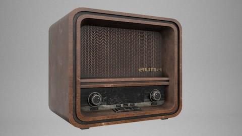 Old Radio 3D Model [FREE]
