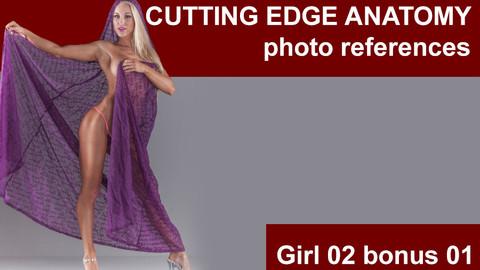 Cutting edge photo references Girl02 bonus 01