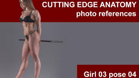 Cutting edge photo references Girl03 pose 04
