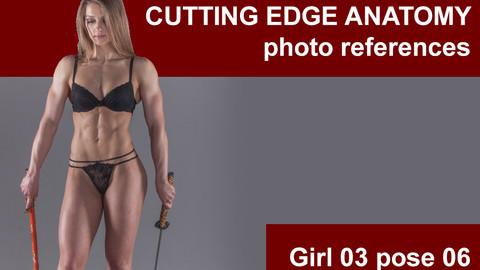 Cutting edge photo references Girl03 pose 06