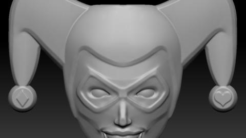 Harley wall mask - 3D print