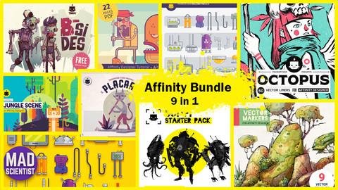 Affinity Designer Bundle (9 in 1)