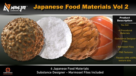 Japanese Food Materials Vol 02