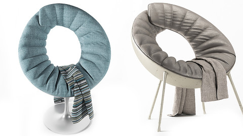 fabric chair c49