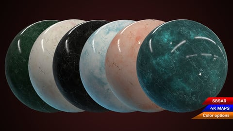 Procedural Marble Material