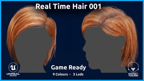 Real Time Hair 001