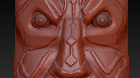 Darth Maul Tiki Mask - 3D Print