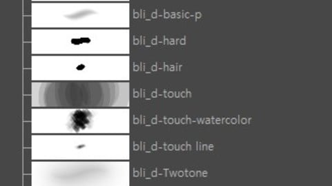 bli_d-Bodypaint 3D-Brush Set (handpainted brush)