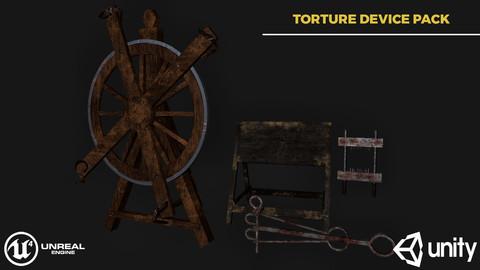 Torture Devices Pack 1 - Real Time/3D assets/2K Textures/Files(Max/MB/OBJ/FBX/Marmoset)