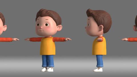 cartoon boy kids child