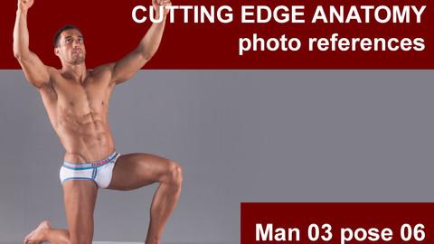 Cutting edge photo references Man 03 pose 06