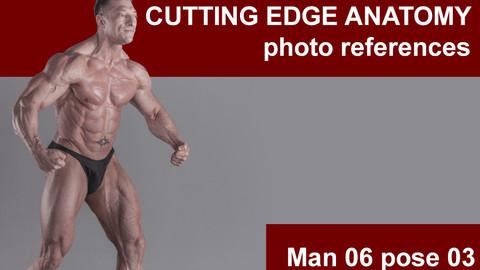 Cutting edge photo references Man 06 pose 03