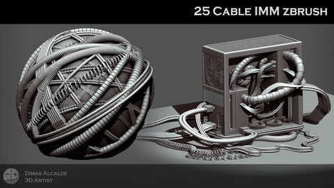 Cable IMM 21 IMM Brushes Pack