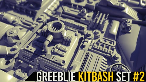 Greeblie Kitbash Set #2