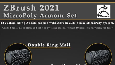 Zbrush 2021 Armour Micropoly