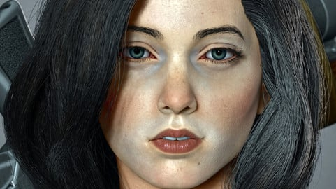 Realistic Female Character Sculpting for Artist