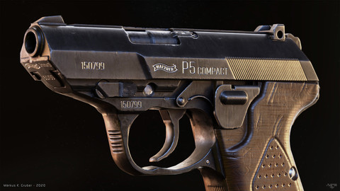 Walther P5 Compact [Game/VR-Ready]