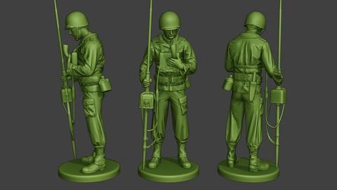 American engineer soldier ww2 Talk_Radio A9