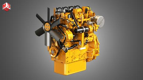 Diesel Engine C2 3D model