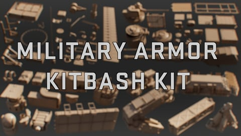 Military Armor Vehicle - KITBASH KIT