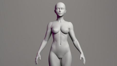 Female Basemesh