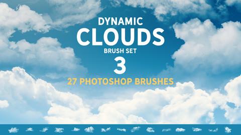 Dynamic Clouds Brush set 3