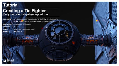 Tutorial | Creating a Tie Fighter with Substance Designer
