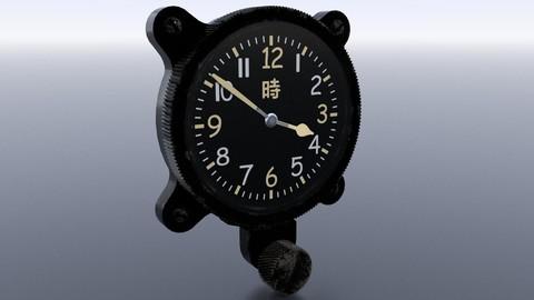 JAPANESE CLOCK GAUGE