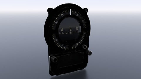 JAPANESE MAGNETIC COMPASS