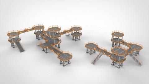Sci Fi Modular Environment 10