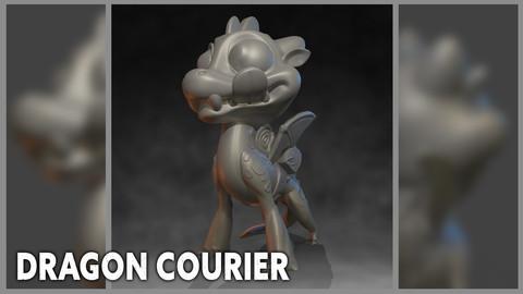 Dragon Courier - 3D Print Files