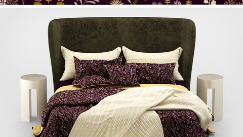 Turpault Lauren meridiani classic bed