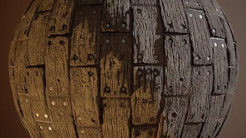 Wood Floor Planks Material