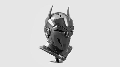 Helmet Batman Robotic ( Wearable)