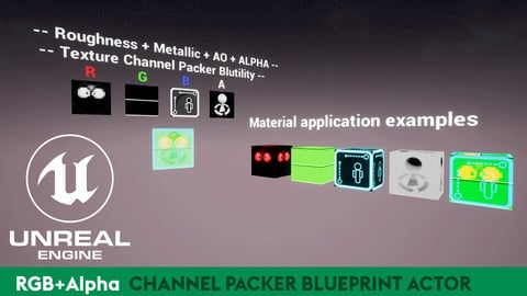 UE4 Texture Packer