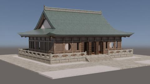 Japanese Modular Temple 3