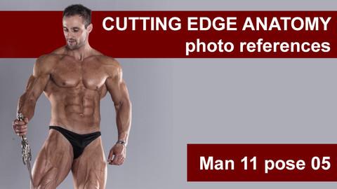 Cutting edge photo references Man 11 pose 05